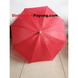 Payung Anak Polos Merah...