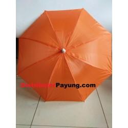 Payung Anak Polos Orange...