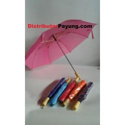 Payung Lipat 2 Polos Sablon...